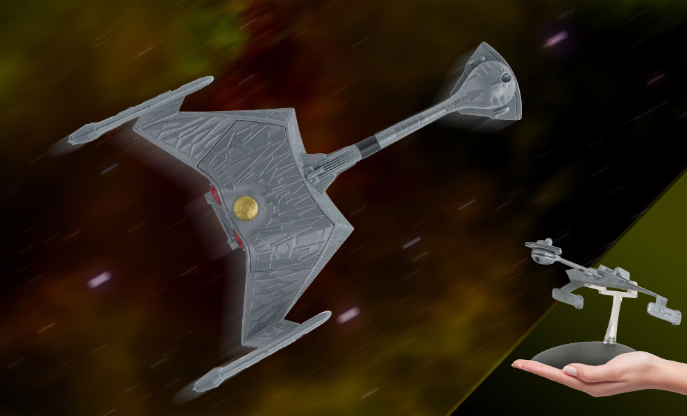 Klingon K't'inga Class Battlecruiser Model