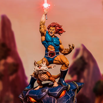 Lion-O & Snarf 1:10 Scale Statue