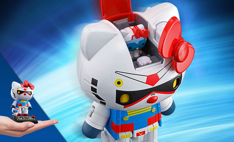 Gundam x Hello Kitty Collectible Figure