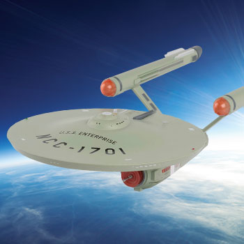 U.S.S. Enterprise NCC-1701 Model