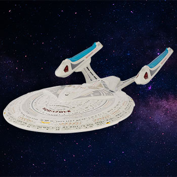 U.S.S. Enterprise NCC-1701-E Model