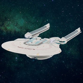 U.S.S. Enterprise NCC-1701-B Model