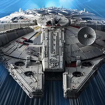 Millennium Falcon (Rise of Skywalker Version) Model Kit