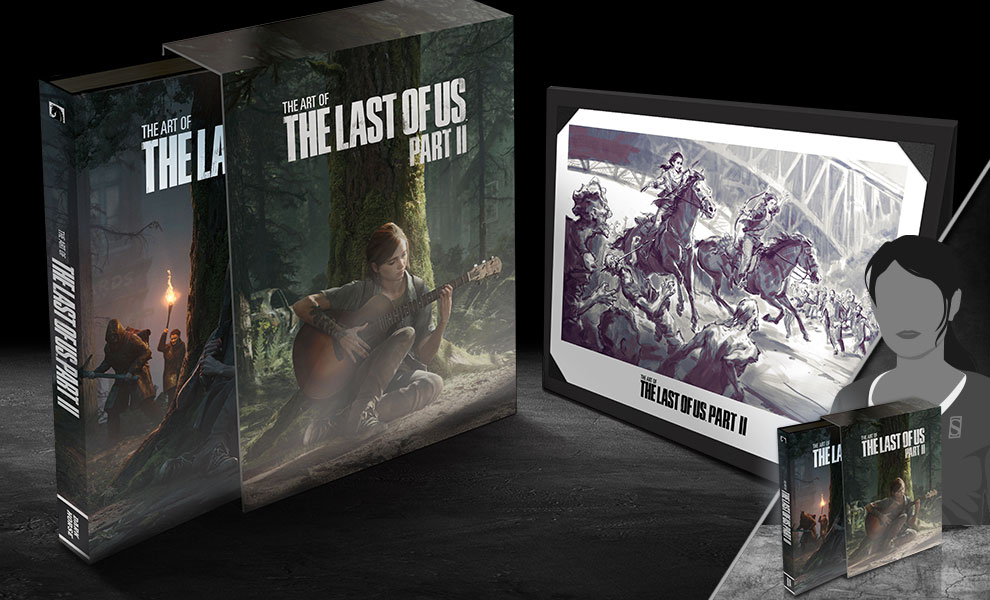 The Art of The Last of Us Part II (Deluxe Edition) Book