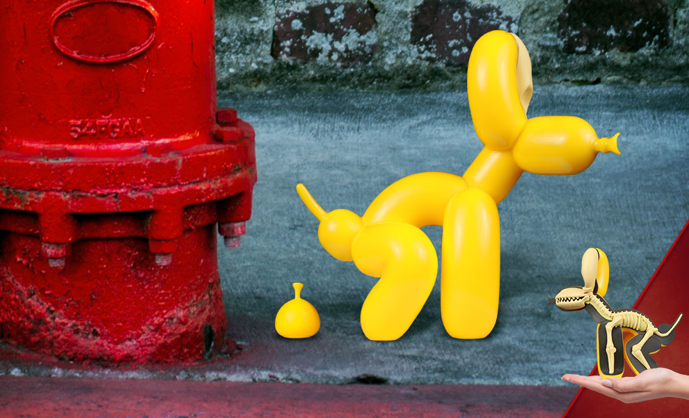 Dissected POPek (Yellow Edition) Collectible Figure