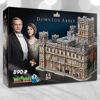 Downton Abbey 3D Puzzle Puzzle