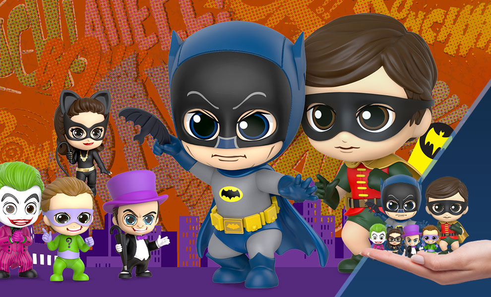 Batman, Robin, and Villains Collectible Set