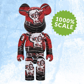 Be@rbrick Jean-Michel Basquiat #5 1000% Collectible Figure