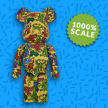 Be@rbrick Keith Haring 1000% Collectible Set