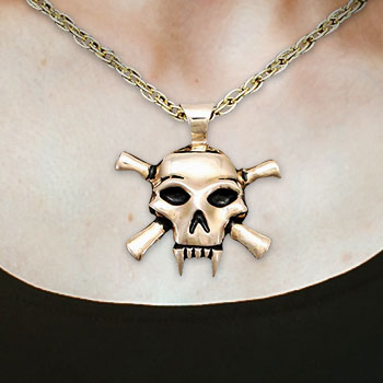 Lady Death Necklace Jewelry