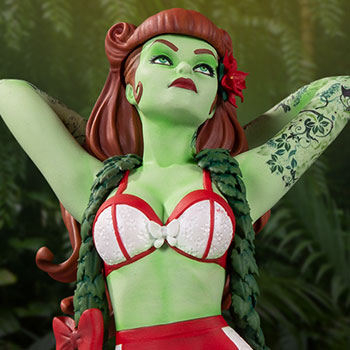 Poison Ivy (Holiday Variant) Statue