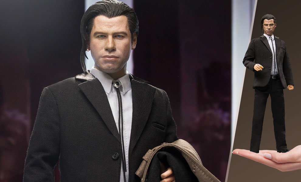 Vincent Vega (Pony Tail Version) Deluxe 2.0 Sixth Scale Figure