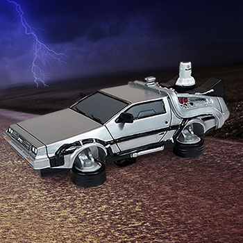 Delorean Time Machine (Premium Motion) Statue