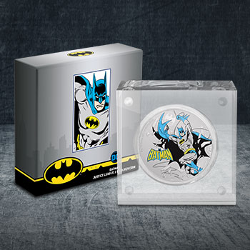2020 Batman 1oz Silver Coin Silver Collectible