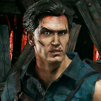 Ash Williams Statue