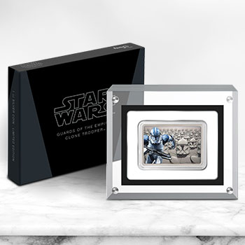 Clone Trooper Silver Coin Silver Collectible