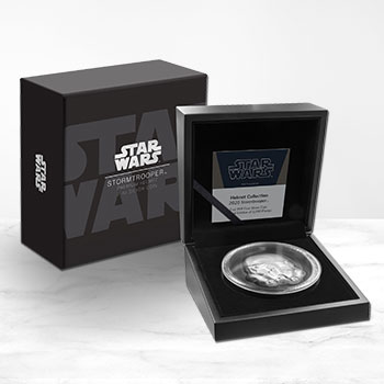 Stormtrooper Helmet Silver Coin Silver Collectible