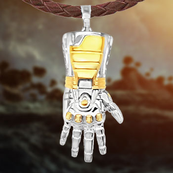Stark Gauntlet Necklace Jewelry