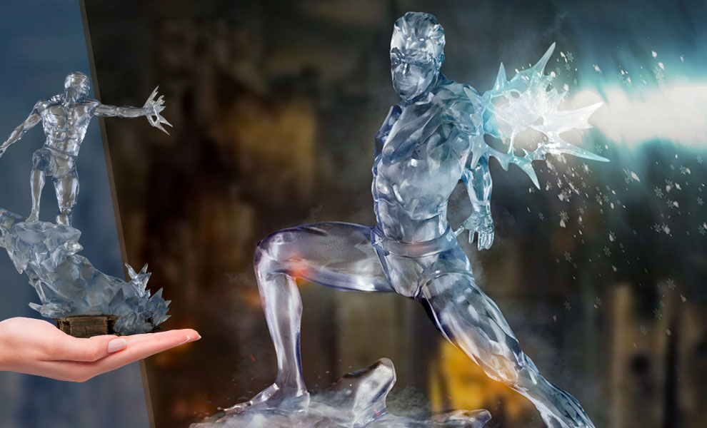 Iceman 1:10 Scale Statue