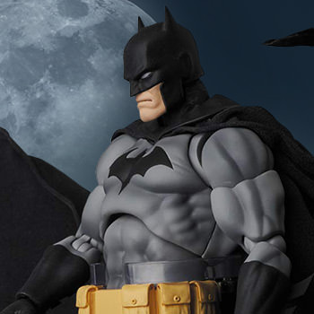 Batman (Hush Black Version) Collectible Figure