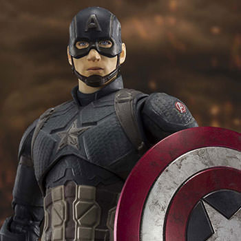 Captain America (Final Battle Version) Collectible Figure