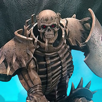 Skull Knight (White Bone Variant) Statue