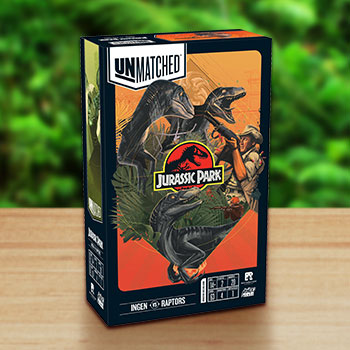 Unmatched: Jurassic Park - InGen VS Raptors Board Game