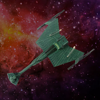 Klingon D7-Class Battle Cruiser Model