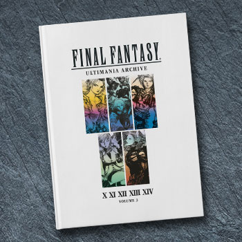 Final Fantasy Ultimania Archive Volume 3 Book