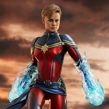 Captain Marvel Sixth Scale Figure