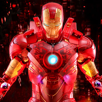 Iron Man Mark IV (Holographic Version) Sixth Scale Figure