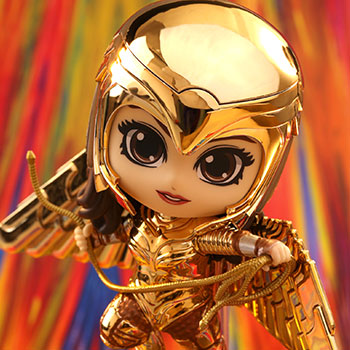 Golden Armor Wonder Woman (Metallic Gold Version) Collectible Figure