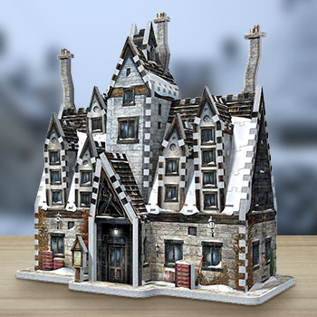Hogsmeade - The Three Broomsticks 3D Puzzle Puzzle