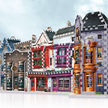 Diagon Alley 3D Puzzle Set Puzzle