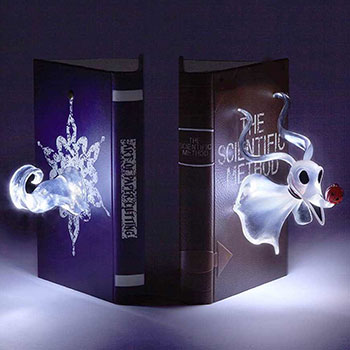 Light-Up Zero Bookends Office Supplies