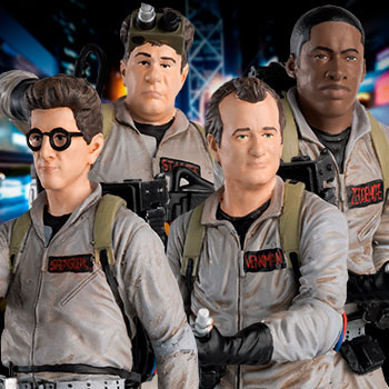 Ghostbusters Collectible Set