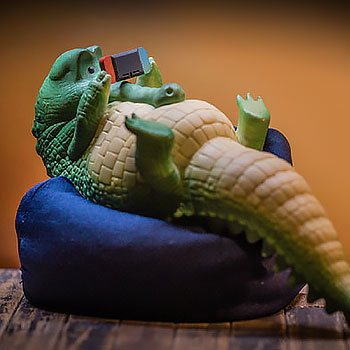 Crocodile Figurine