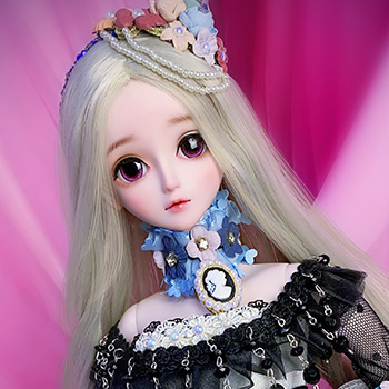 Black Pistil Collectible Doll