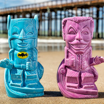 Batman and Joker '66 Tiki Mug