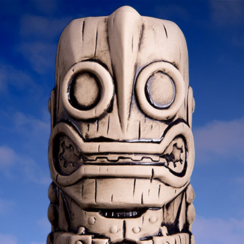 Iron Giant (Bone Variant) Tiki Mug