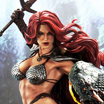 Red Sonja: She-Devil with a Vengeance Deluxe Statue