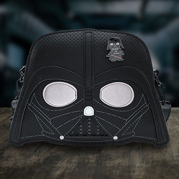 Darth Vader Pin Trader Crossbody Apparel