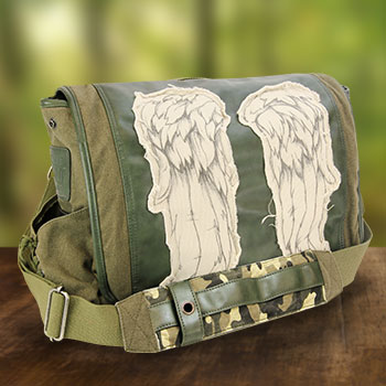 Daryl Wings Messenger Bag (Fatigue Green) Apparel