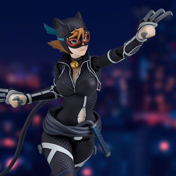 Catwoman (Ninja Version) Figma Collectible Figure