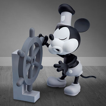 Mickey Mouse 1928 Version (Black & White) Nendoroid Collectible Figure