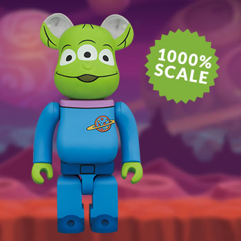 Be@rbrick Alien 1000% Collectible Figure