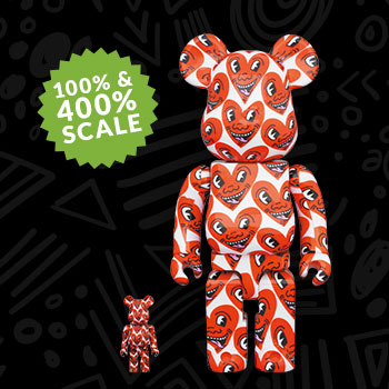 Be@rbrick Keith Haring #6 100% & 400% Collectible Set