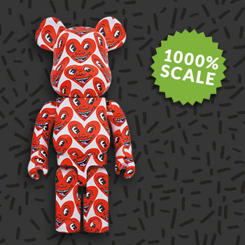 Be@rbrick Keith Haring #6 1000% Collectible Figure