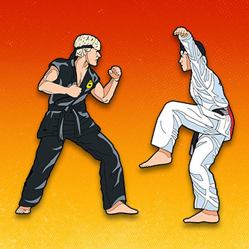 The Karate Kid Vol. 2 Pinbook Collectible Pin