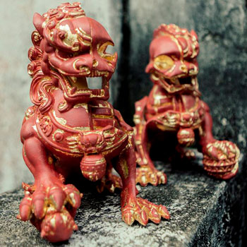 XXRAY+ Foo Dogs (Terracotta) Collectible Set